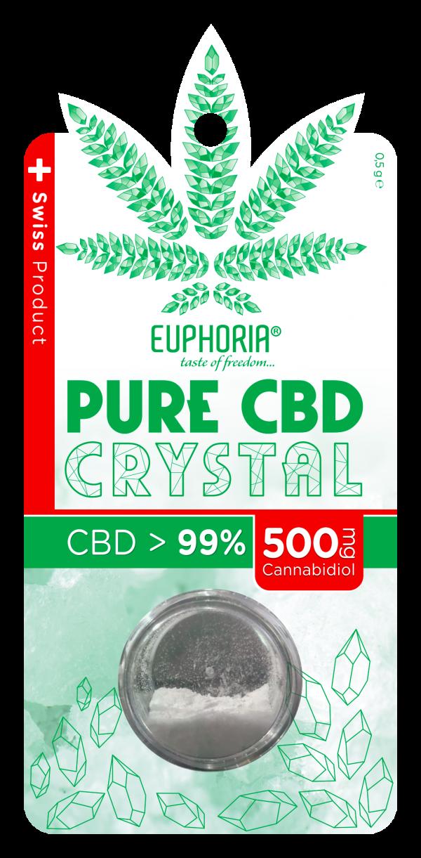 CBD Isolaat 500mg | CBD Kristall | CBD Kanep | justhemp.ee
